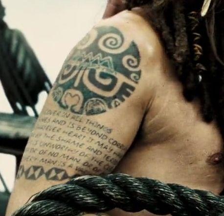 Image result for jack sparrows tattoos