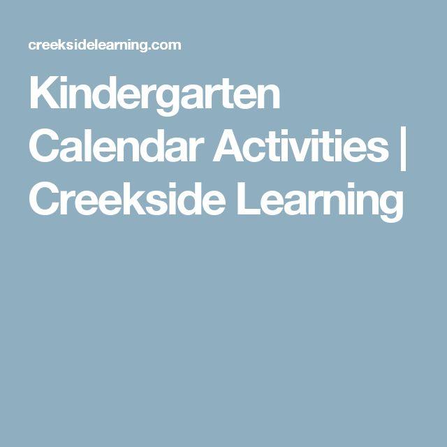 Kindergarten Calendar Time Smartboard : Best kindergarten calendar activities ideas on
