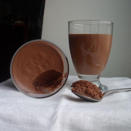 Schnelles und deliziöses Mousse au chocolat