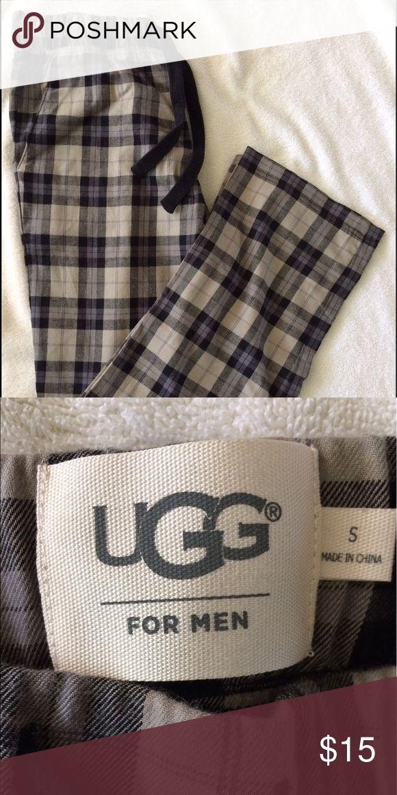 UGG Men's Pajama Pants Brand New UGG Men's Plaid Pajama Pants. Size small. Drawstring band at waist. Cotton. UGG Pants Sweatpants & Joggers