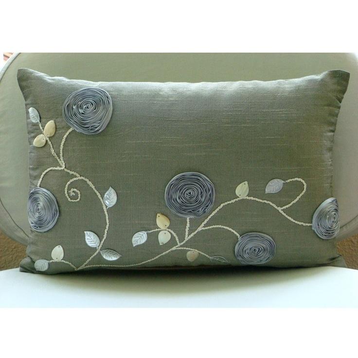 Decorative Oblong / Lumbar Rectangle Throw Pillow Covers