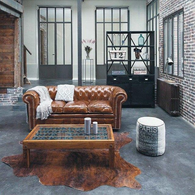 Photo Taken By Laetizia Bb On Instagram Pinned Via The InstaPin IOS App Urban IndustrialIndustrial InteriorsRustic DesignRustic