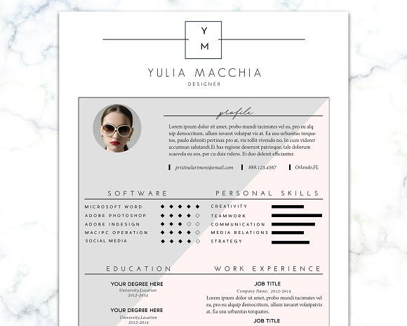 177 best Clean Resume Templates images on Pinterest Resume - professional resume fonts