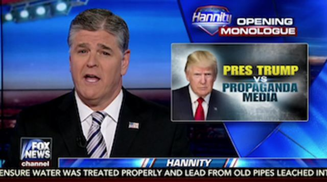 Sean Hannity's Promotion Of Fake Gateway Pundit News Proves He Doesn't Care About Truth