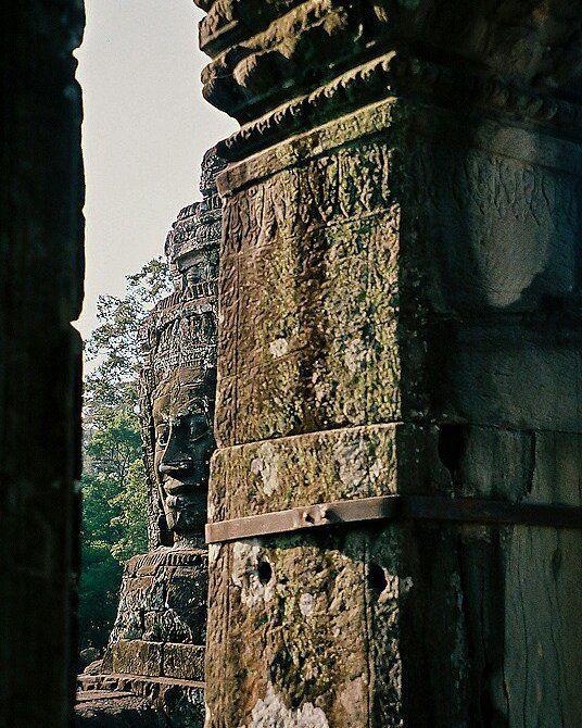 Angkor faces
