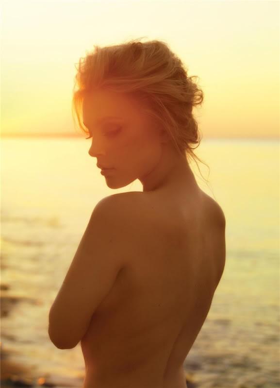 sunset beach boudoir..killer