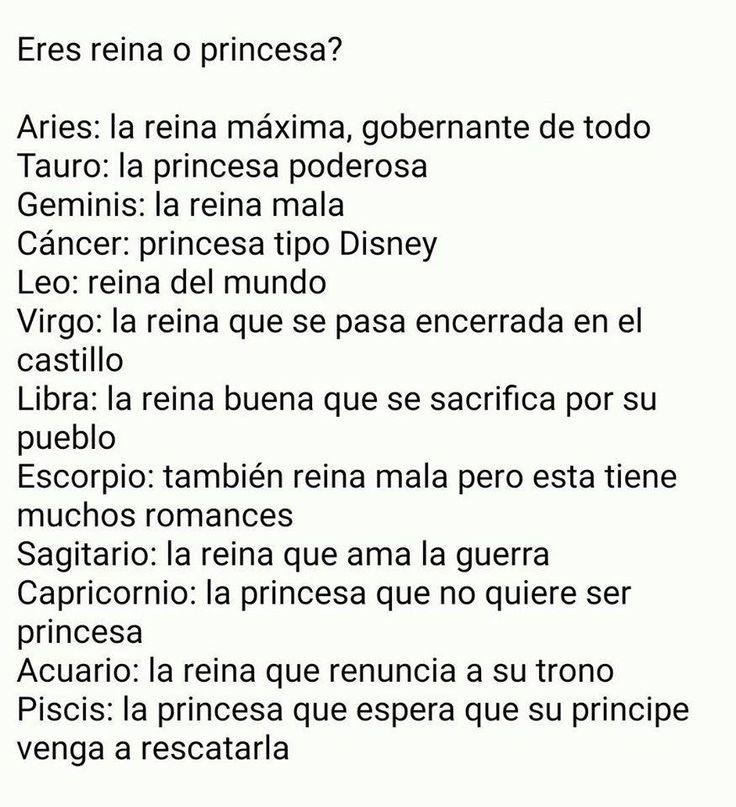 Reina o princesa?