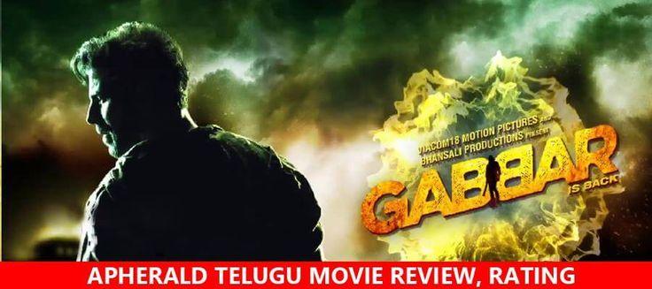 Gabbar Is Back Review | LIVE UPDATES | Gabbar Is Back Rating | Gabbar Is Back Movie Review | Gabbar Is Back Movie Rating | Gabbar Is Back Hindi Movie Review | Gabbar Is Back Movie Story, Cast & Crew on apherald.com  http://www.apherald.com/Movies/Reviews/85949/Gabbar-Is-Back-Movie-Review-Rating/