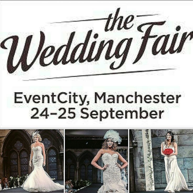 The Wedding Fair at EventCity, Manchester  Saturday 24th September 2016  Start Time: 10.00am Finish Time: 5.00pm Catwalk shows Free parking Goody Bag available with VIP ticket Wedding suppliers attending: 100+  View more details at: http://www.weddingvenuesinengland.co.uk/wedding-fayre/wedding-fair-manchester/  #weddings #weddingfayres  #cheshireweddings  #cheshirebrides  #wedding #manchesterweddings #manchesterweddingfayres  #manchesterbrides