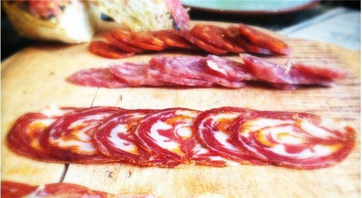 Salumi da re all'Antica Corte Pallavicina con il Gambero Rosso http://bit.ly/salumidare