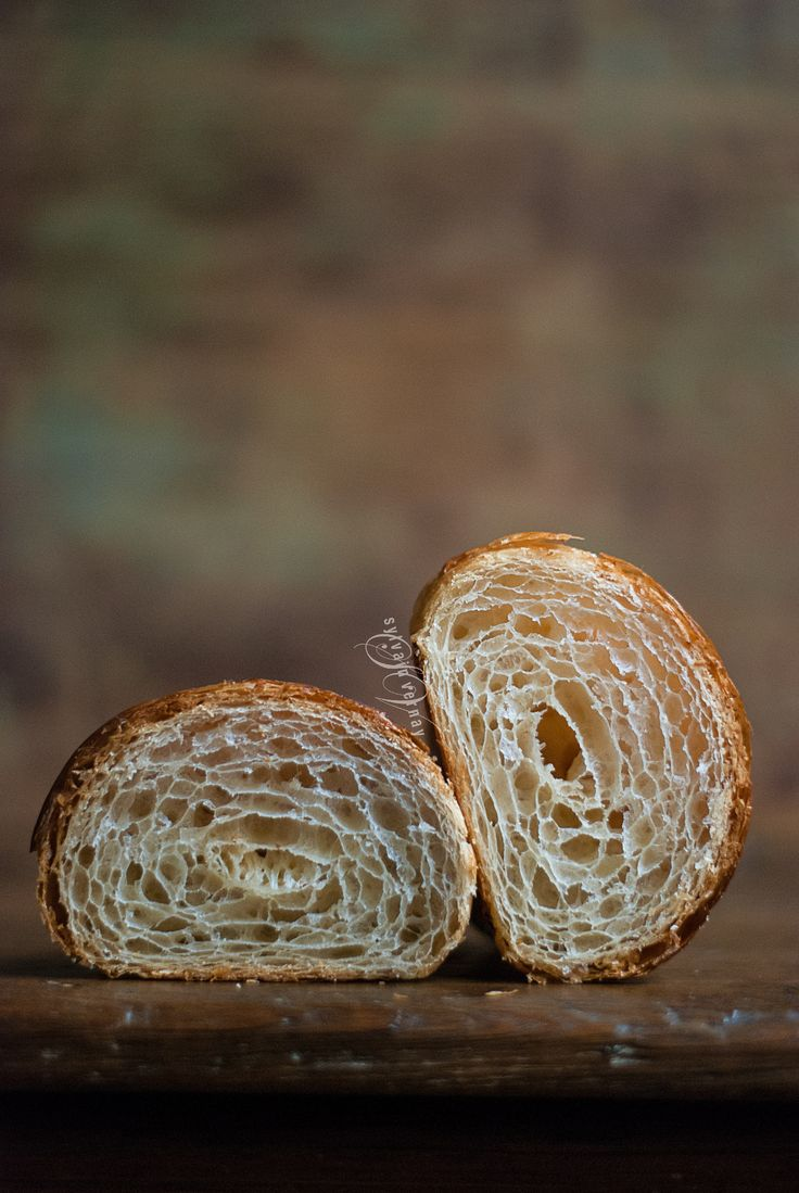 Sourdough croissant, hand-laminated. By Sylvain Vernay.