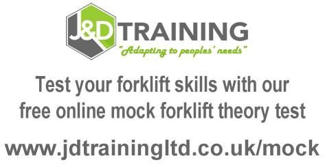 Test your forklift theory skills with our free online mock test http://www.jdtrainingltd.co.uk/mock #forklift #training #jobs