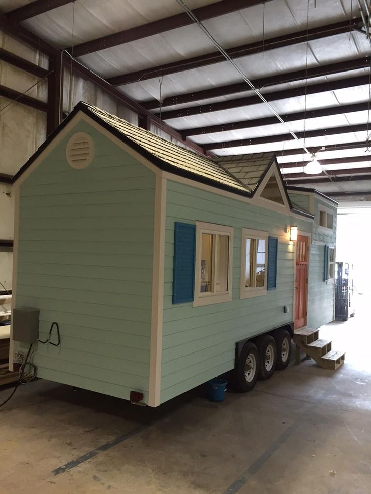 1293 best Living large in a tiny house images on Pinterest | Small ... - mini houses on wheels