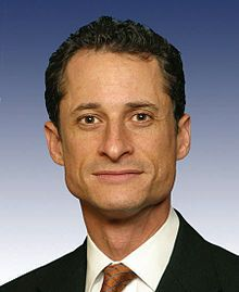 This Wikipedia page describes the sexting scandal of former House of Representatives member Anthony Weiner whose Internet-based infidelity became national news.