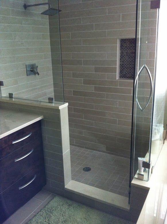 Showers Bathrooms  Tile Showers  Shower Walkin  Tandem Tile. 17 Best images about Tandem Tile Showers   Bathrooms on Pinterest