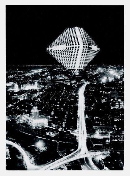 Kenji Ekuan. Dwelling City, 1963