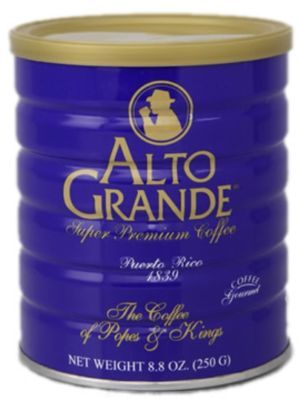 Cafe Alto Grande, Puerto Rican Coffee, Cafe de Puerto Rico Puerto Rico
