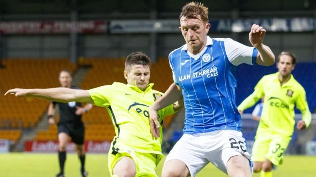 """Tommy Wright insists the tie is """"not over"""" BBC coverage  How to follow: Listen on BBC Radio Scotland 810MW/DAB/online; text commentary on the BBC Sport website  St Johnstone must score twice away to Trakai on Thursday to maintain their hopes of staying in the Europa League. Saints..."""