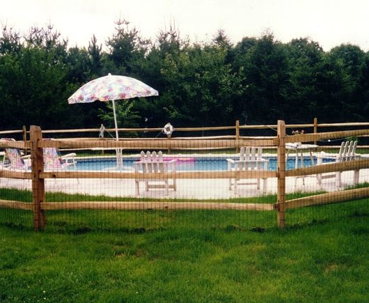 Home >> Posts and Rail Fence >> post-and-rail-fence-styles *** Love a pool that can be or is fenced off from the main yard.
