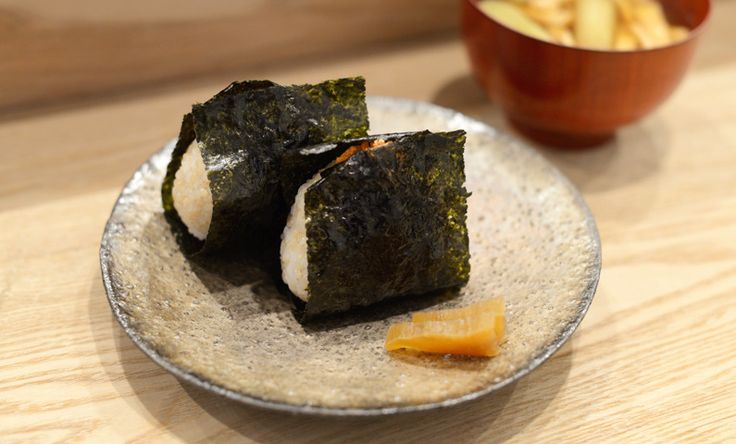 Omusubi◯△ — A wholesome Japanese-style breakfast. Recommended by our friend and food lover, Kan Morieda.