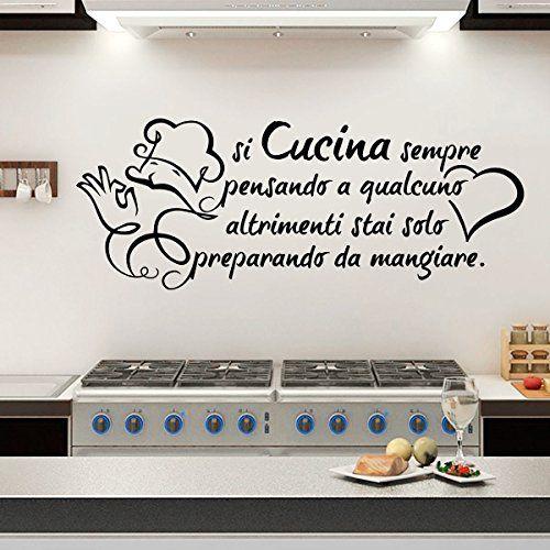 17 migliori idee su adesivi murali su pinterest design - Stickers cucina ...