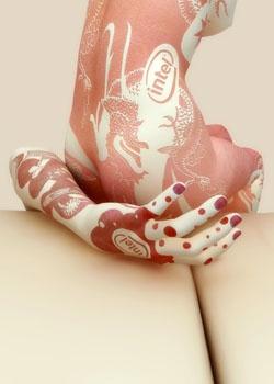 Alternatif Sanat / Vücut Boyama Sanatı | Nü Magazin