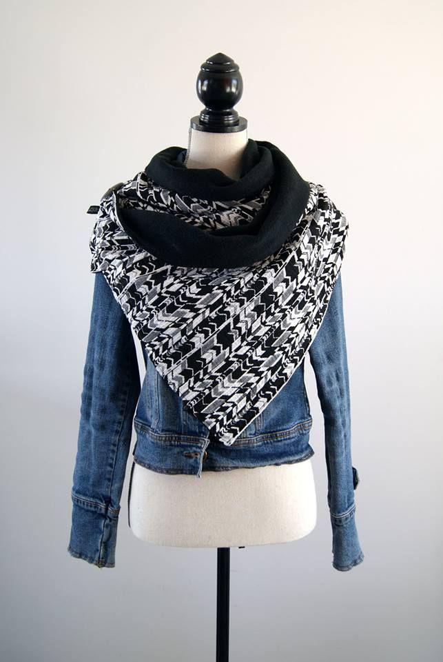 Tuto : Réaliser un grand chèche, le foulard tendance du second