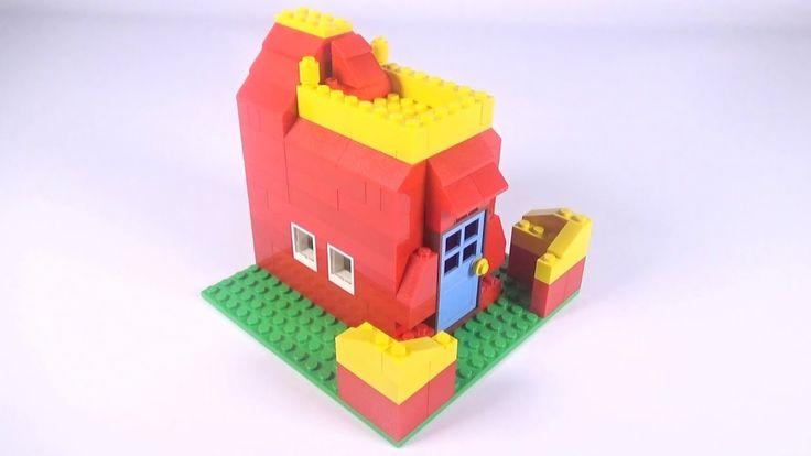 Lego Basic House (007) Building Instructions - LEGO Classic How To Build...