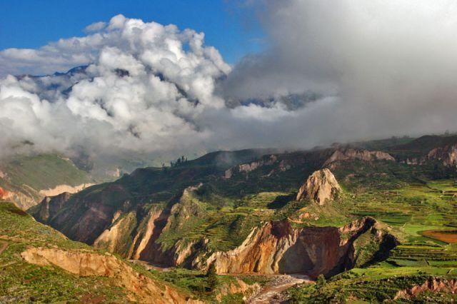 Kanion colca, kanion 1, PERU