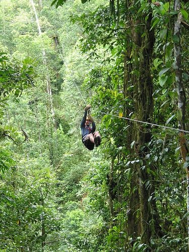Zipline, I've done a very very short zip that my friend made, but its time to try the real deal!