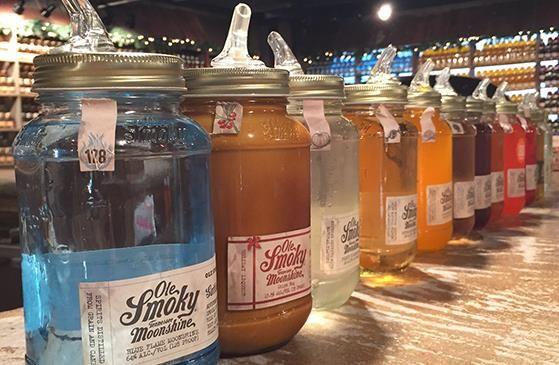Ole Smoky Distillery. Love the free tasting bar.