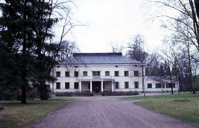 Anolan kartano - Anola Manor in Nakkila near Pori, South-West Finland. Private home, farming. Picture by Elias Härö 1968