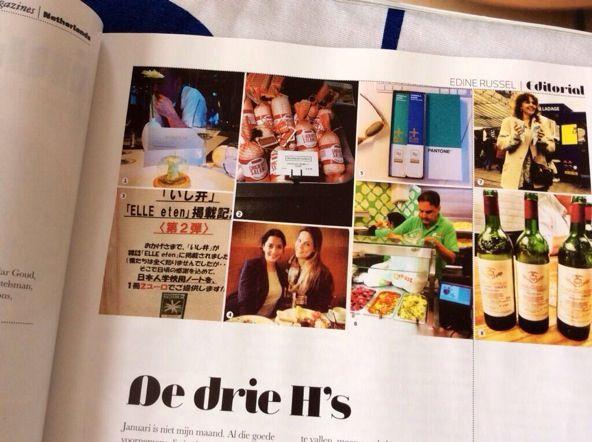 Check it out Elle eten, N.1_2014 #ELLEeten #bilderdeclercq #TonyChocolonely #pasqualepontillo #chocolatesalami #fooddesign www.archichef.nl
