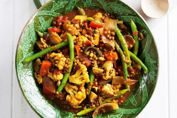 Bring us your time-poor, your hungry, your tired and we'll fix them in a flash with this easy to make vegetable and lentil curry.