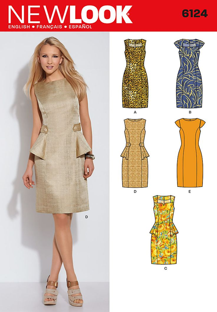 Simplicity Creative Group - Misses' Dress LBD?
