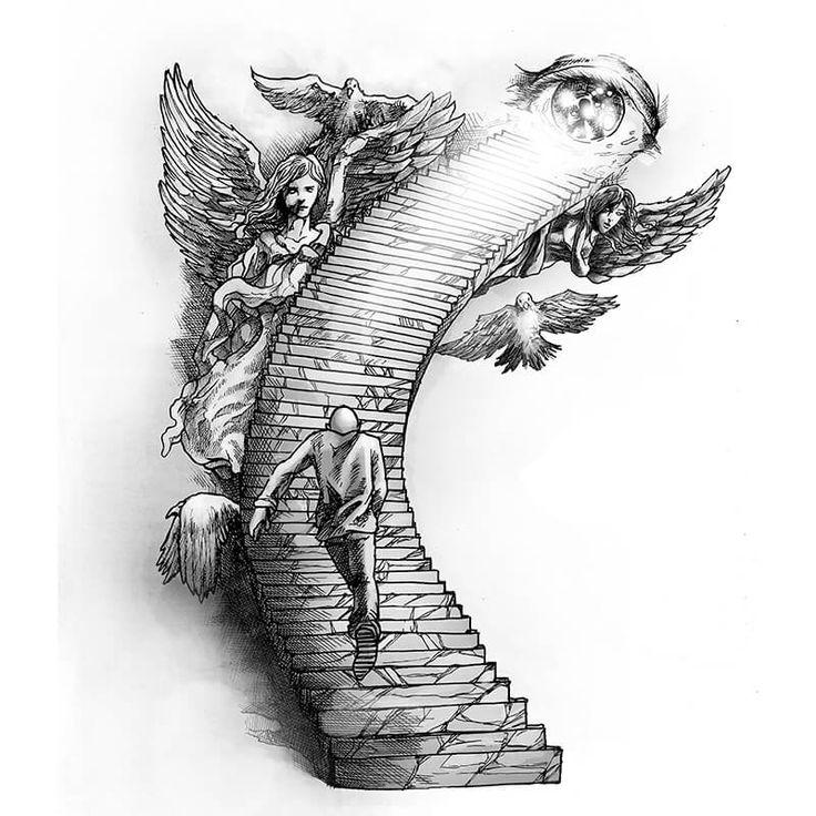The Path Tattoo Design