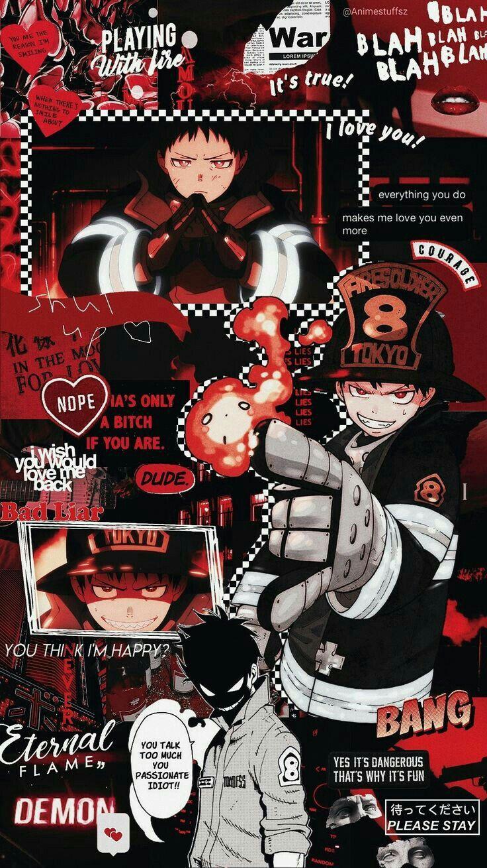 Fire Force Seni anime, Ilustrasi karakter, Seni