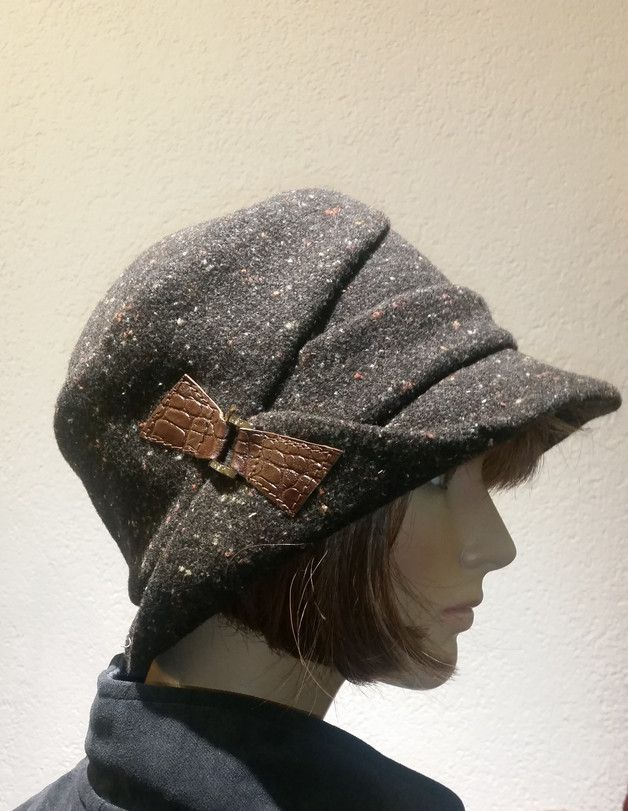 Hüte - Winter Hut Mütze - ein Designerstück von LeinenWelt bei DaWanda