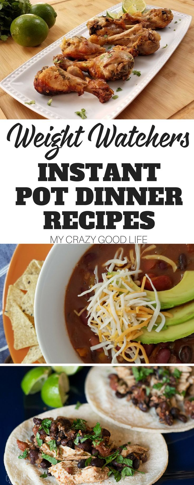 It's no secret that I love my Instant Pot, they make meal time a breeze. If you are on Weight Watchers or any other healthy eating plan, you won't want to miss this collection of delicious recipes. These Weight Watchers Instant Pot dinners all have IP dir