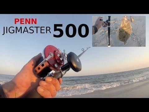 PENN Fishing Reels - JIGMASTER 500 Fish Reel - Fluke / Flounder & Shark ...