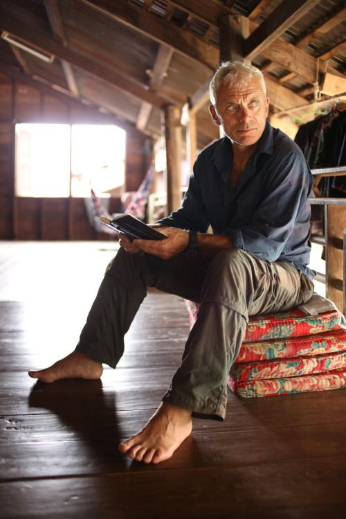 Jeremy Wade. There's something ruggedly handsome and sexy about this man.