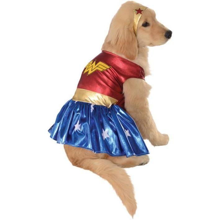 Disfraz de Wonder Woman clásico para perro