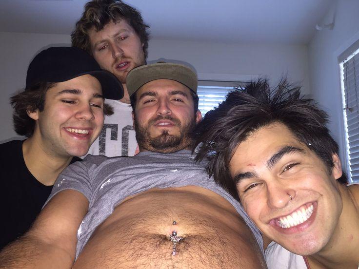 David, Scott, Zane, and Todd (Remaking the Hangover picture)