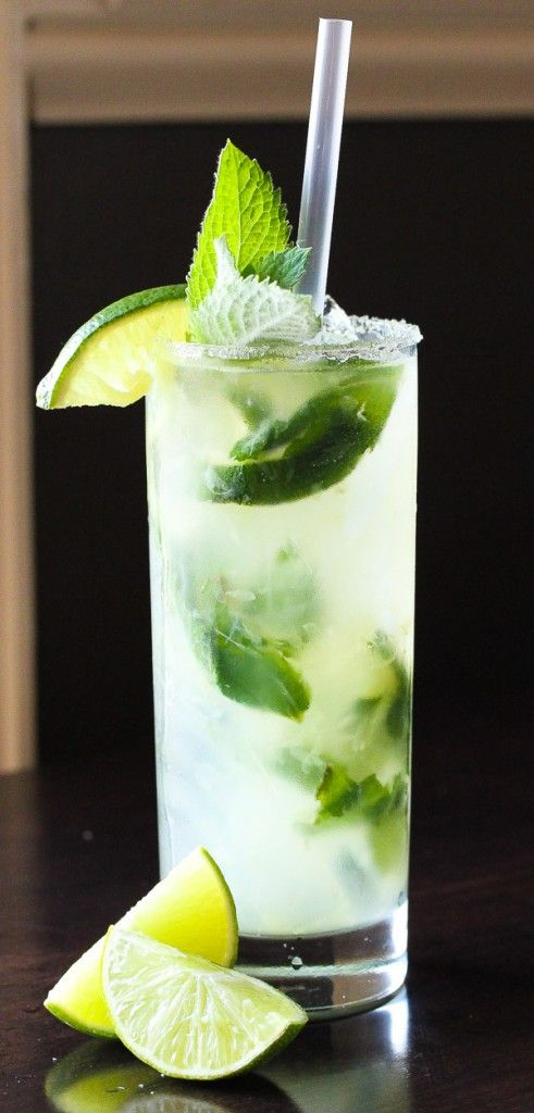 Cucumber Mojito - I have tried a lot of drinks with cukes this summer. Most all were improved with a slice of jalapeno or 2!