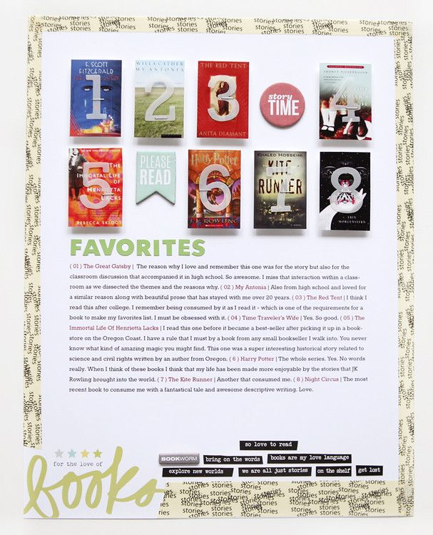 READ Favorites at Ali Edwards