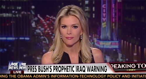Megyn Kelly's LIES Using Bush's Defense of Iraq Surge to Blame Obama for ISIL