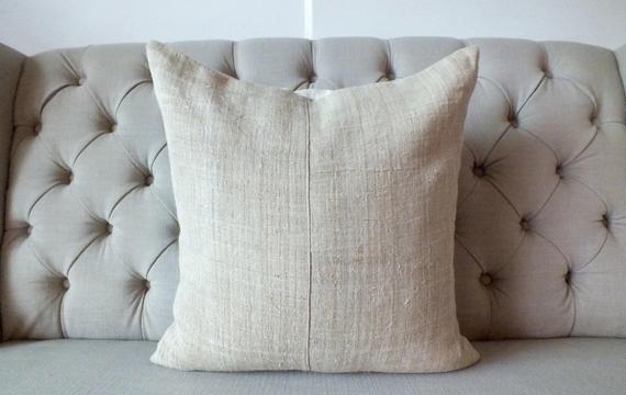 Hmong Hemp Cushions Hemp Vintage Textiles Throw Cushion Cover Handwoven Hemp Decorative Cushions ในป 2020 ม ร ปภาพ