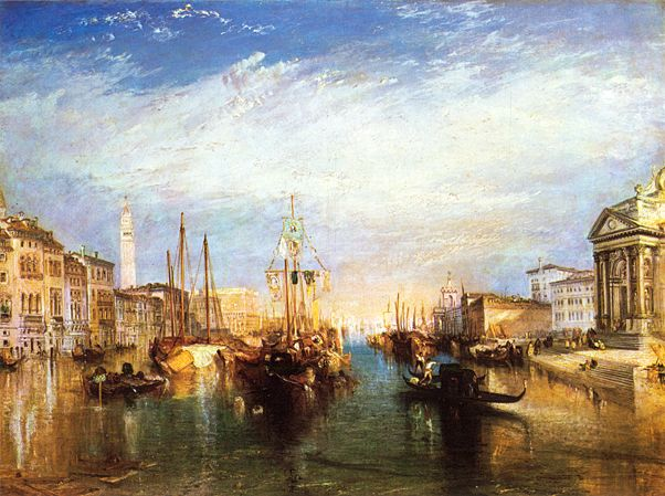 The Grand Canal, Venice JMW Turner