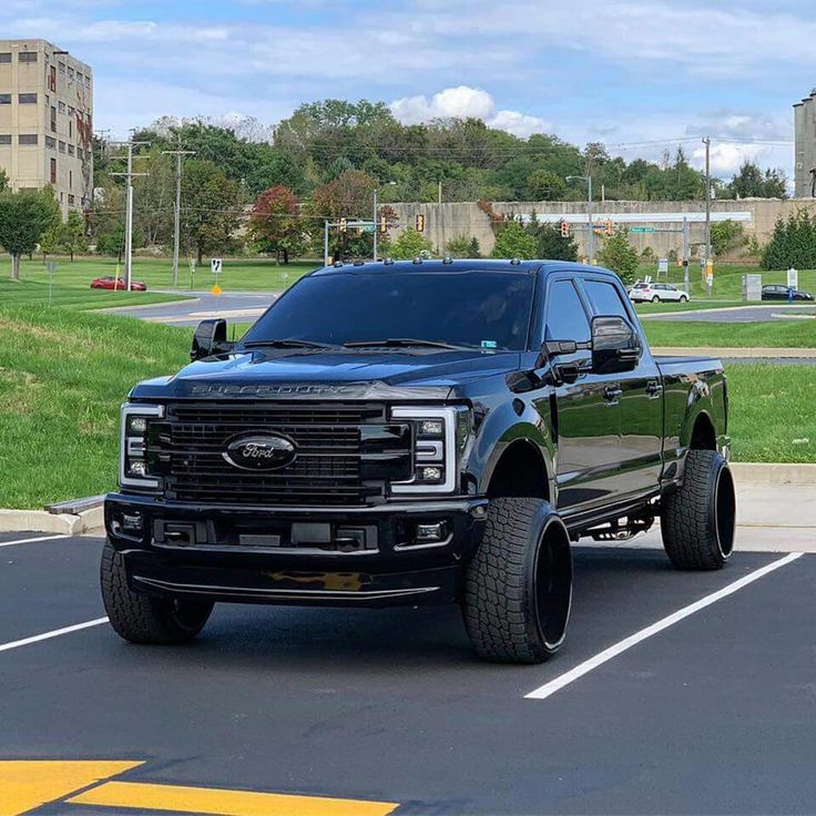 Blacked Out 2017, 2018, 2019 Ford F 250 Super Duty