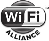 Wi-Fi Alliance is a trademark... They have logos you can use for free to advertise a wi-fi hotspot... but it isn't this one.
